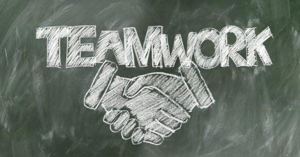bedrijfsuitje teamwork