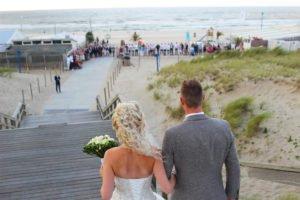 trouwen aan zee